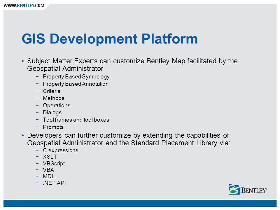 GIS Development Platform