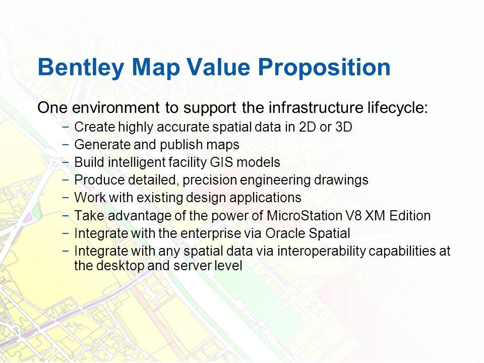 Bentley Map Value Proposition