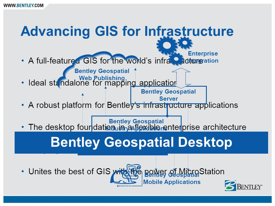 Advancing GIS for Infrastructure