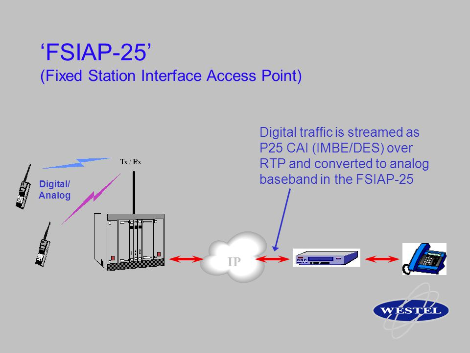 'FSIAP-25' (Fixed Station Interface Access Point)