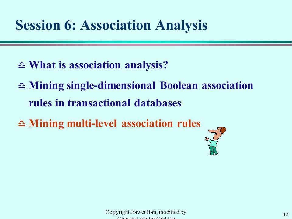 Session 6: Association Analysis