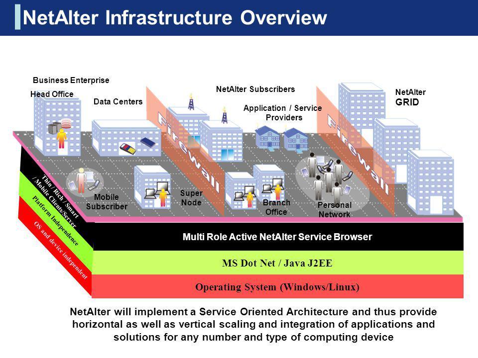 NetAlter Infrastructure Overview