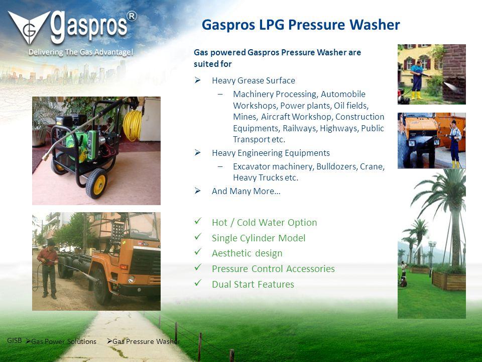 Gaspros LPG Pressure Washer