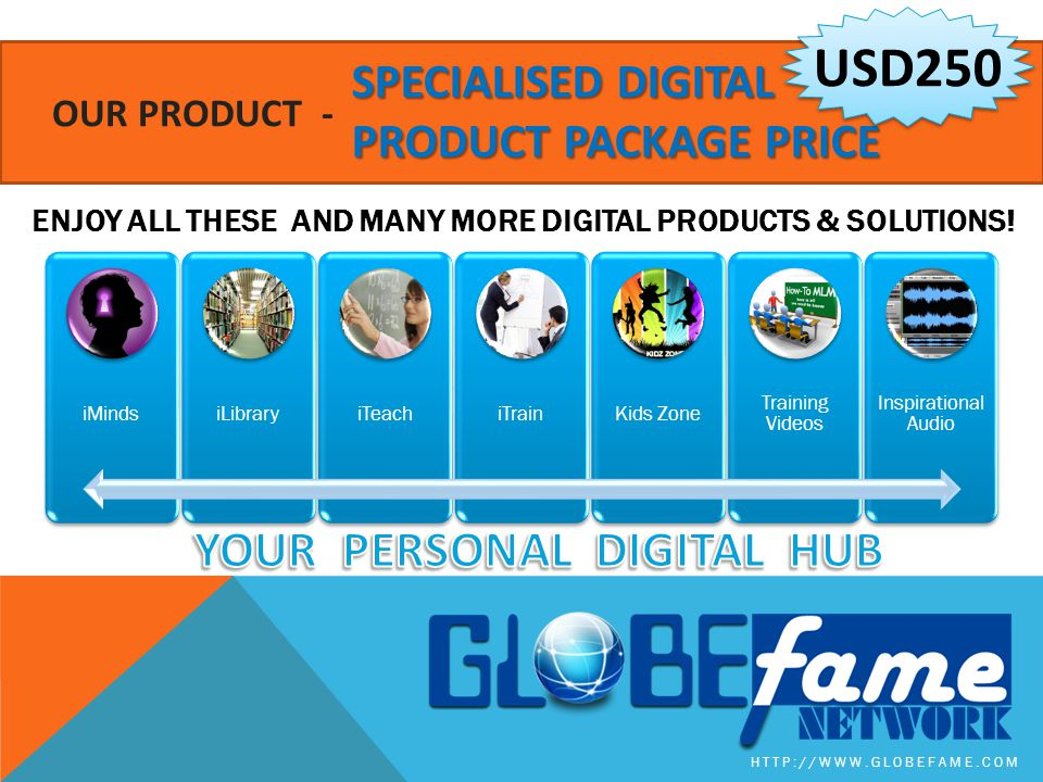 USD250 YOUR PERSONAL DIGITAL HUB