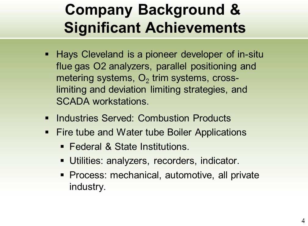 Company Background & Significant Achievements