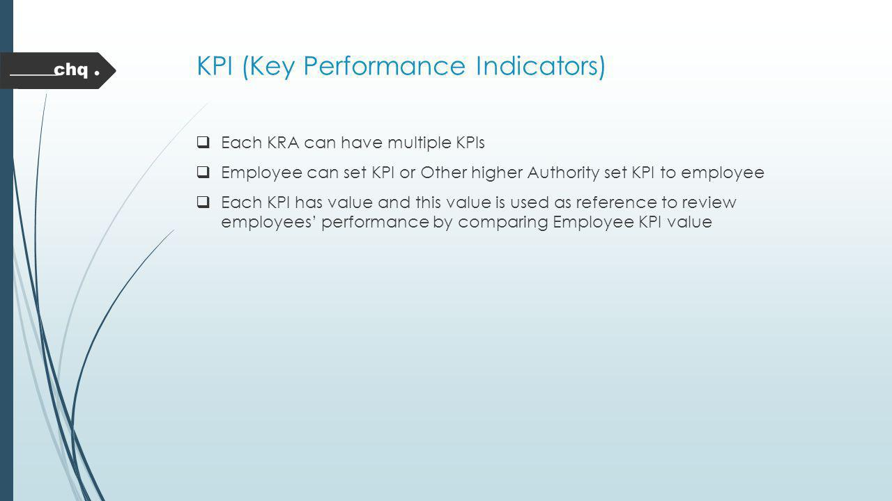 KPI (Key Performance Indicators)