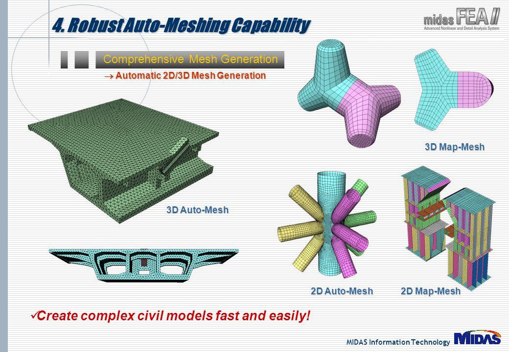 4. Robust Auto-Meshing Capability