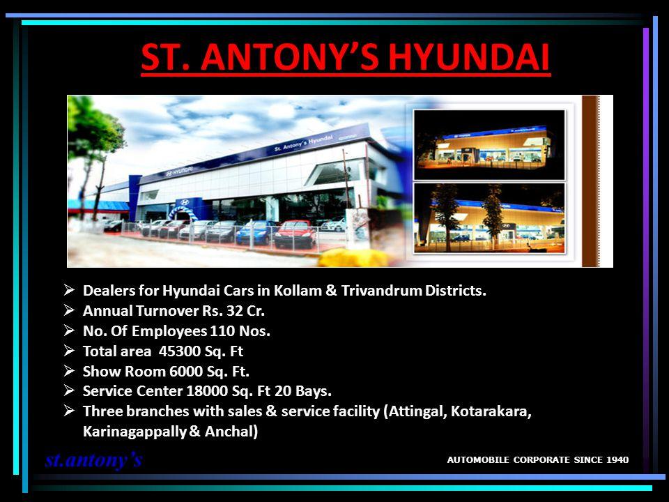 ST. ANTONY'S HYUNDAI st.antony's