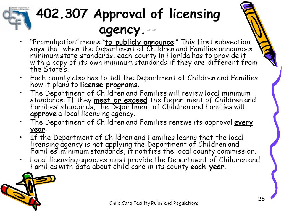402.307 Approval of licensing agency.--