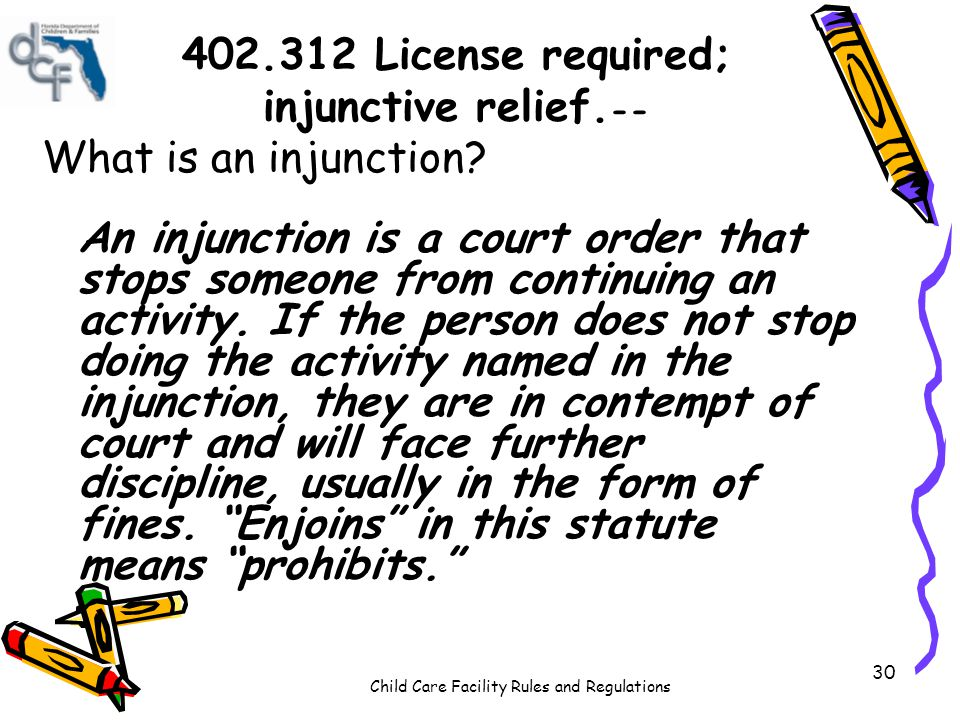 402.312 License required; injunctive relief.--