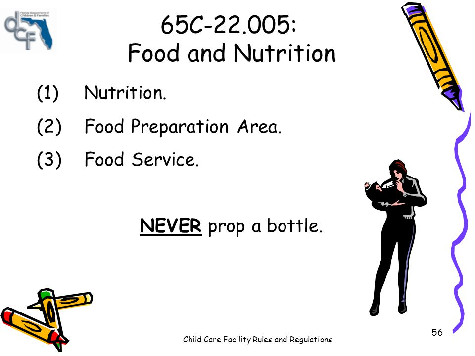 65C-22.005: Food and Nutrition (1) Nutrition.