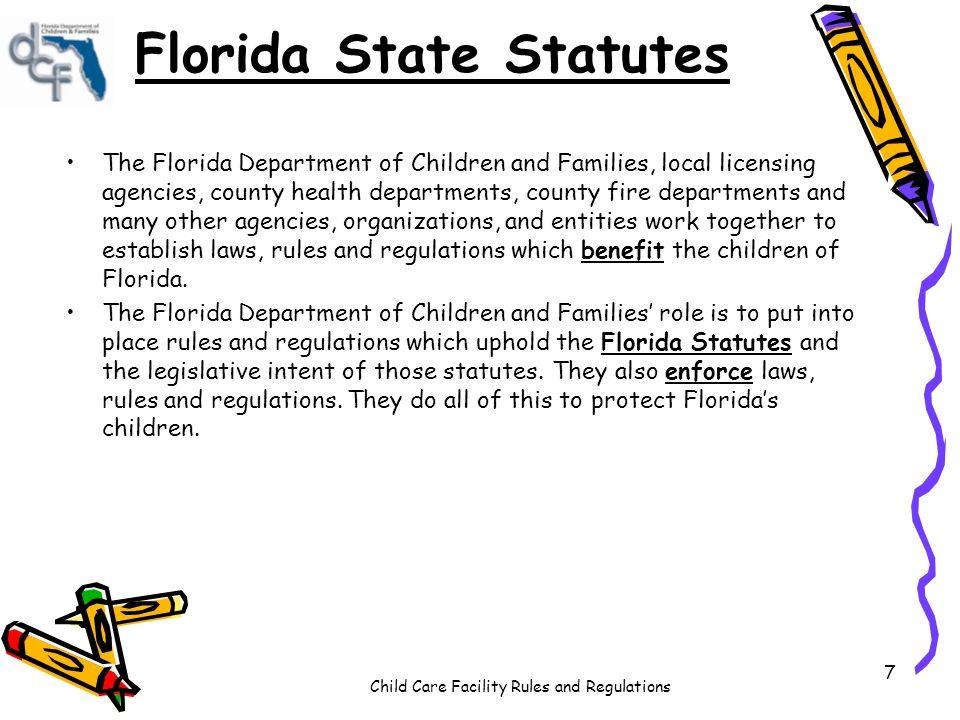 Florida laws dating minors