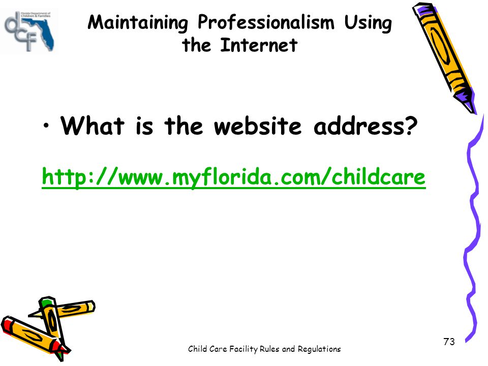 Staff Professionalism in Child Care