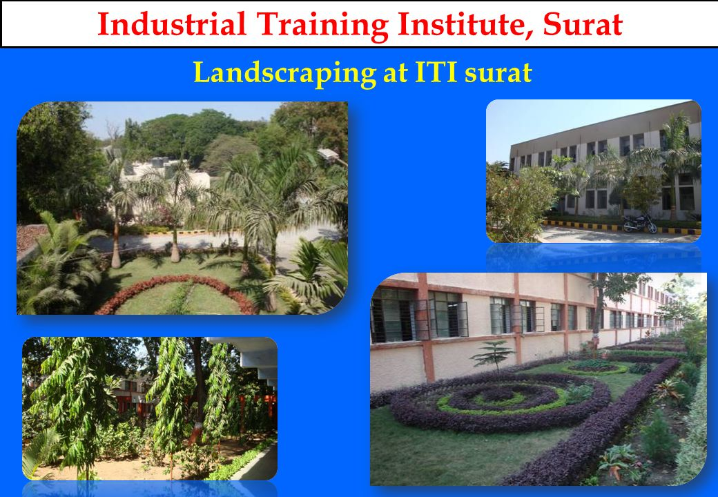 Landscraping at ITI surat