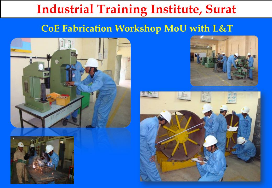 CoE Fabrication Workshop MoU with L&T