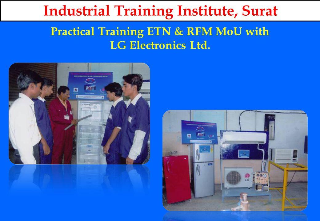 Practical Training ETN & RFM MoU with LG Electronics Ltd.