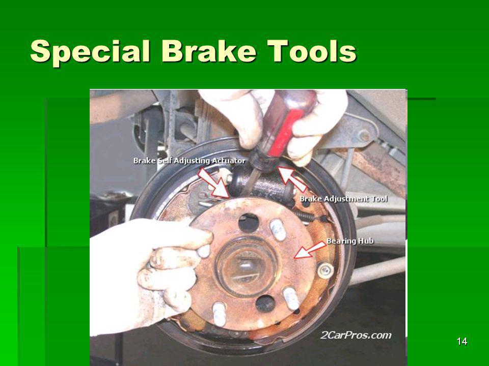 Special Brake Tools