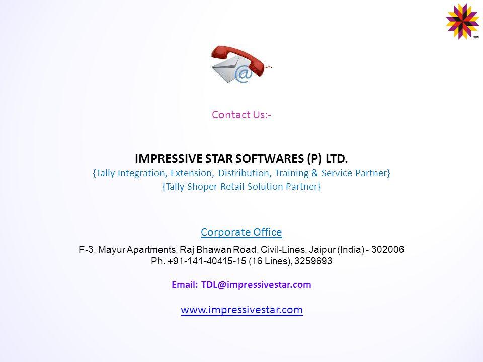 IMPRESSIVE STAR SOFTWARES (P) LTD.