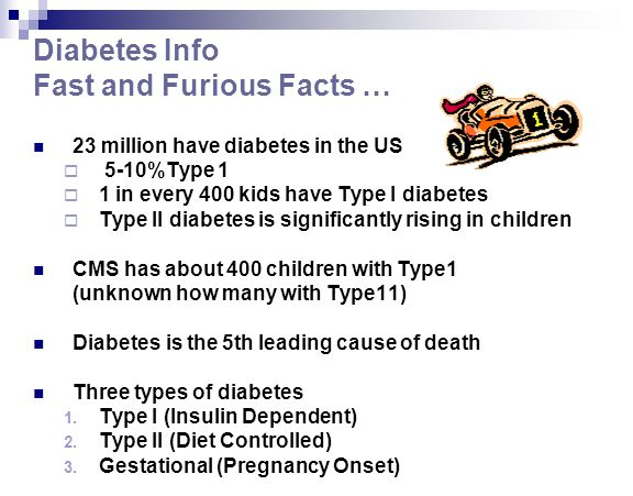 Diabetes Info Fast and Furious Facts …