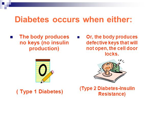 Diabetes occurs when either: