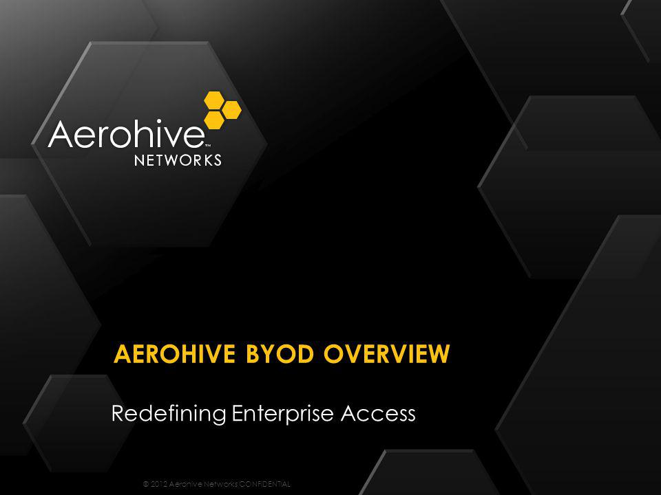 Aerohive BYOD Overview