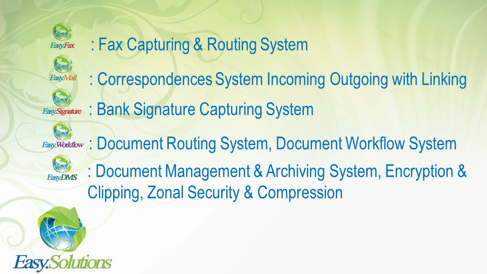: Fax Capturing & Routing System