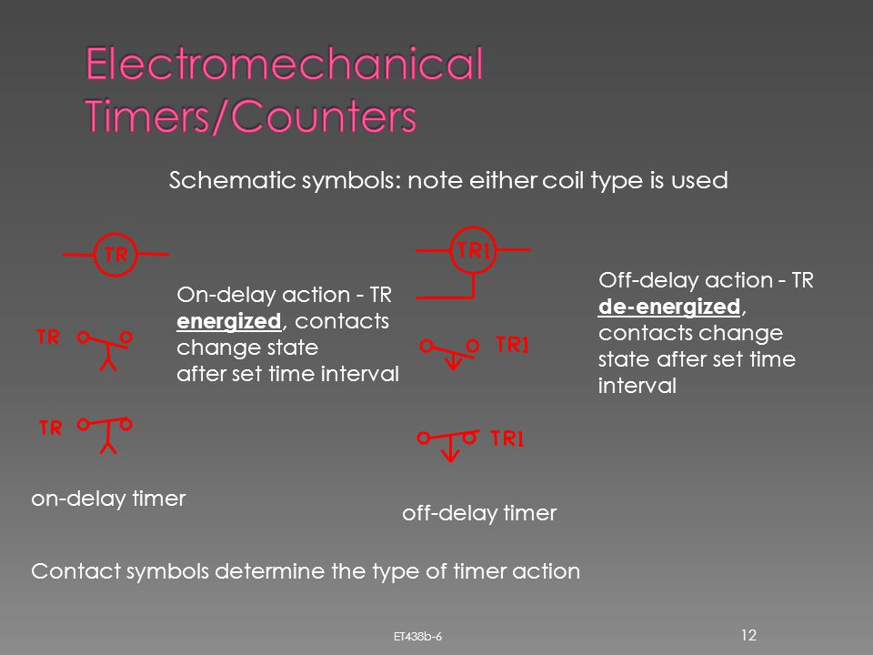 Electromechanical Timers/Counters