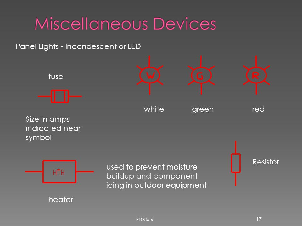 Miscellaneous Devices