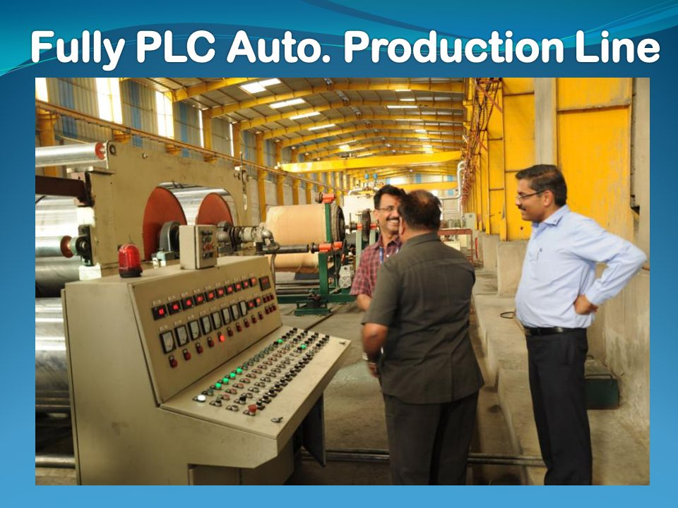 Fully PLC Auto. Production Line