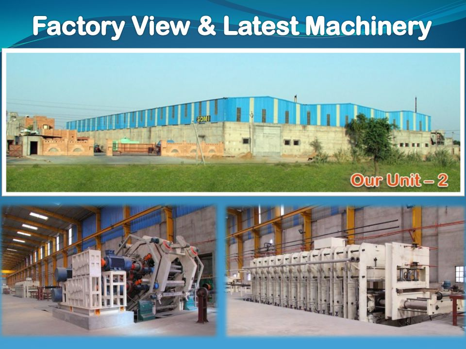 Factory View & Latest Machinery