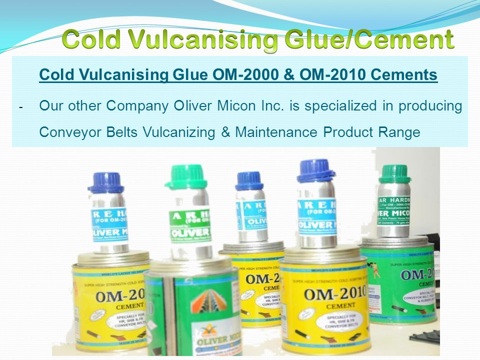 Cold Vulcanising Glue/Cement