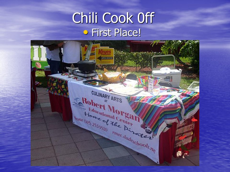 Chili Cook 0ff First Place!