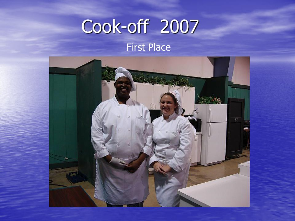 Cook-off 2007 First Place