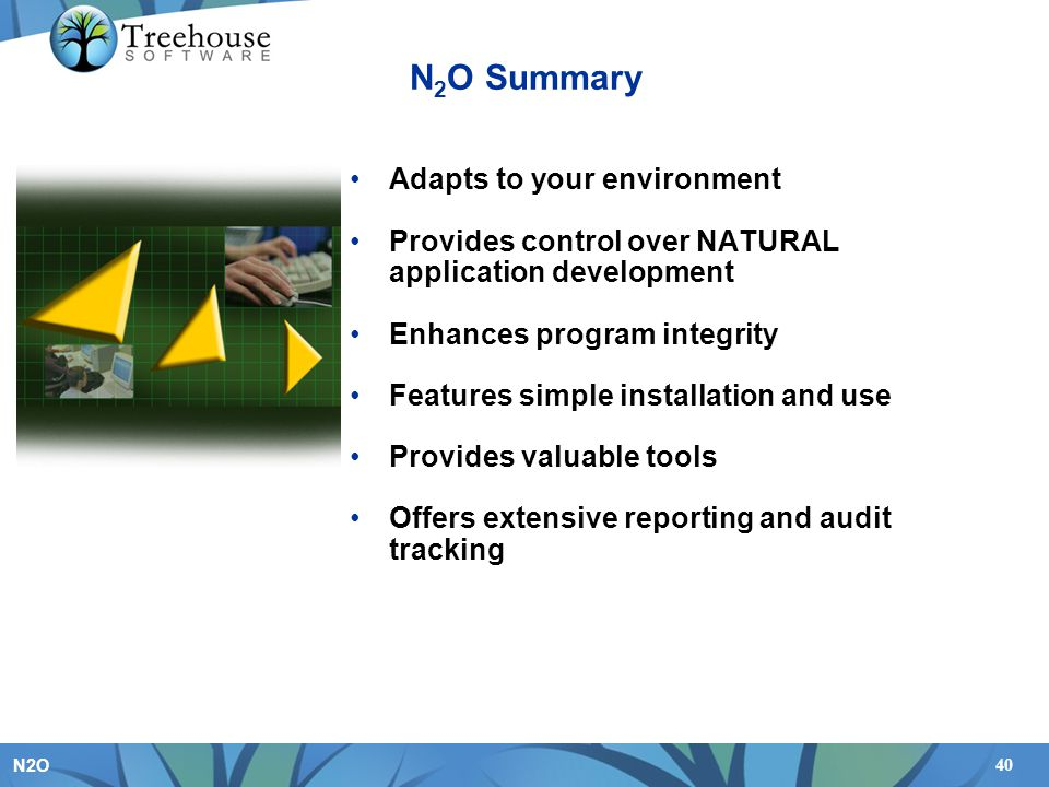 N2O Summary Adapts to your environment