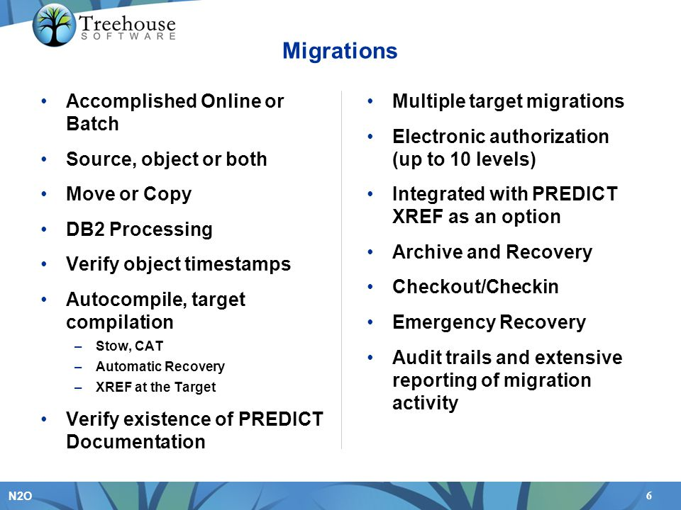 Migrations Accomplished Online or Batch Source, object or both