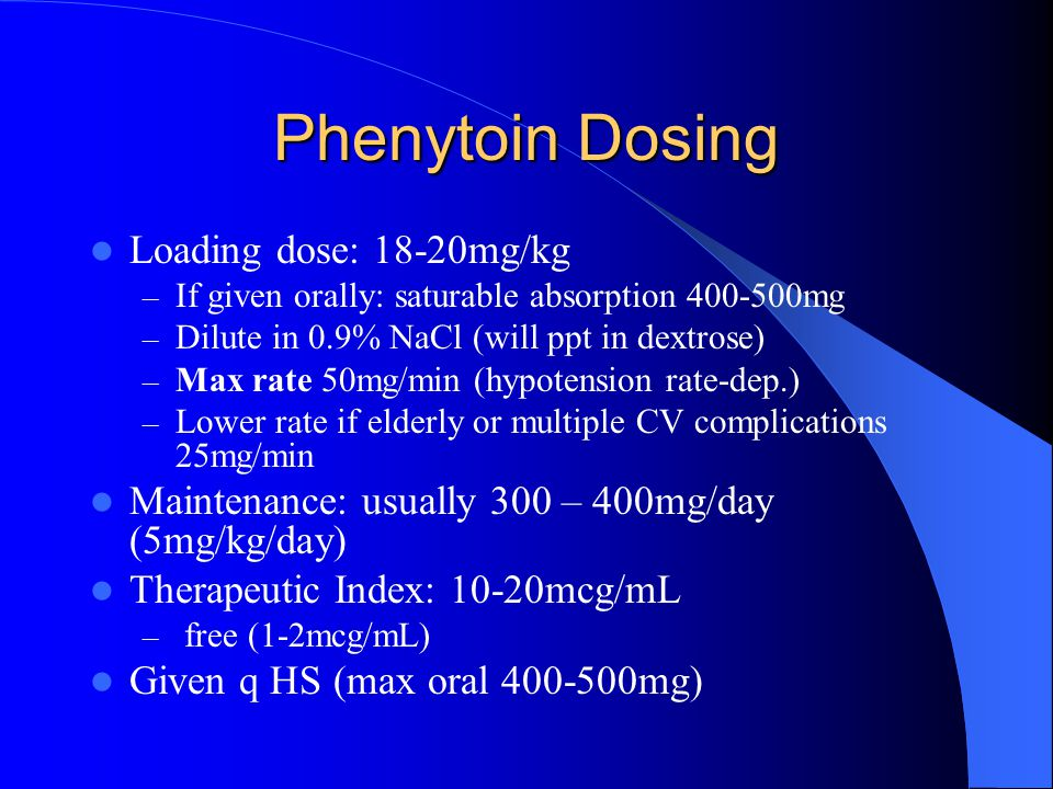 oral to iv phenytoin conversion