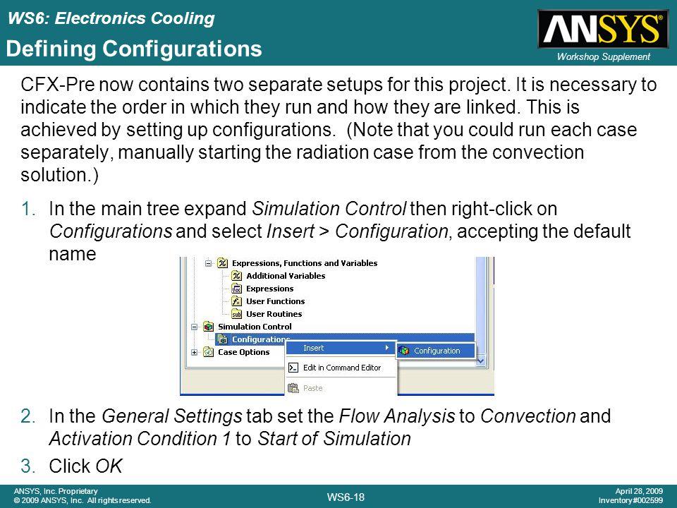 Defining Configurations
