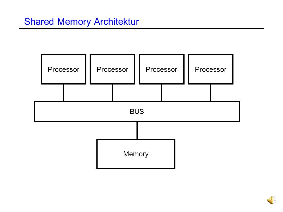 Shared Memory Architektur