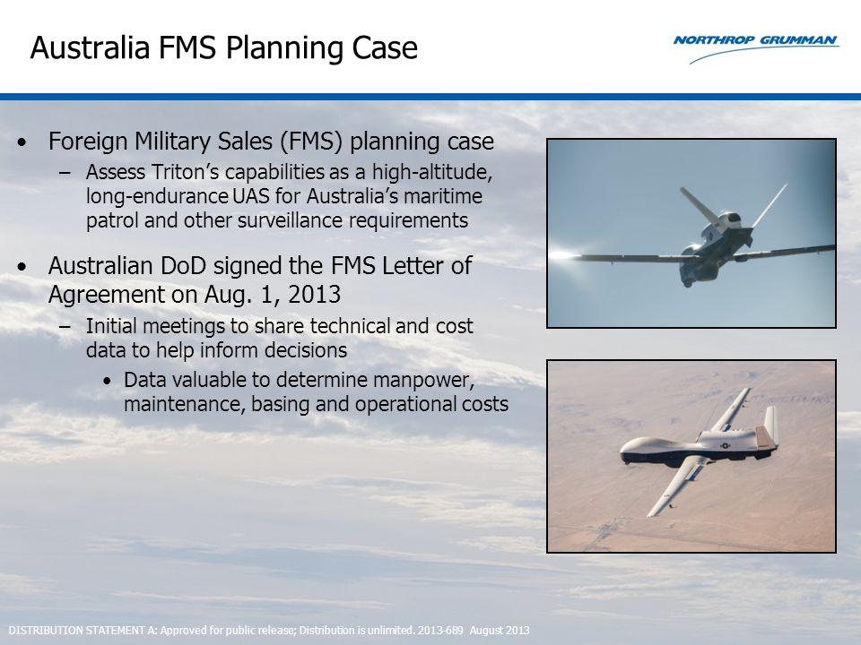 Australia FMS Planning Case