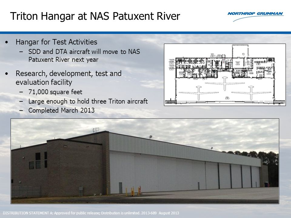 Triton Hangar at NAS Patuxent River