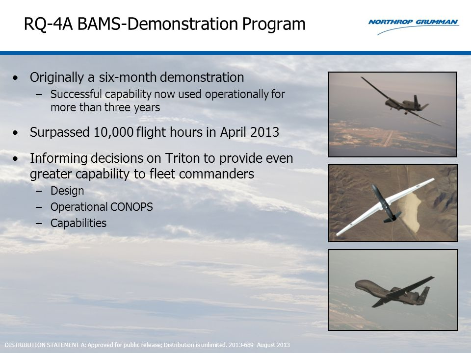 RQ-4A BAMS-Demonstration Program