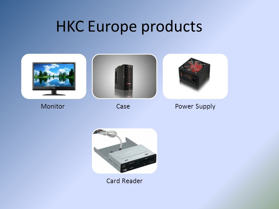 HKC Europe products Monitor Case