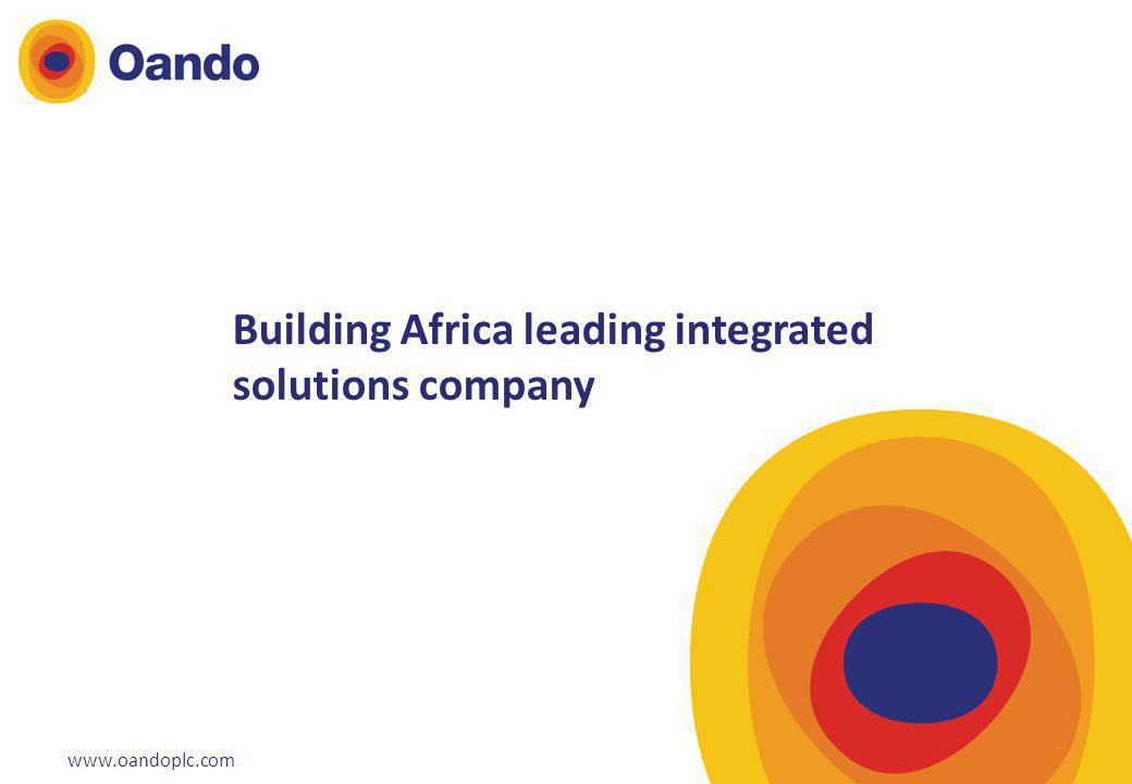 Building Africa leading integrated solutions company
