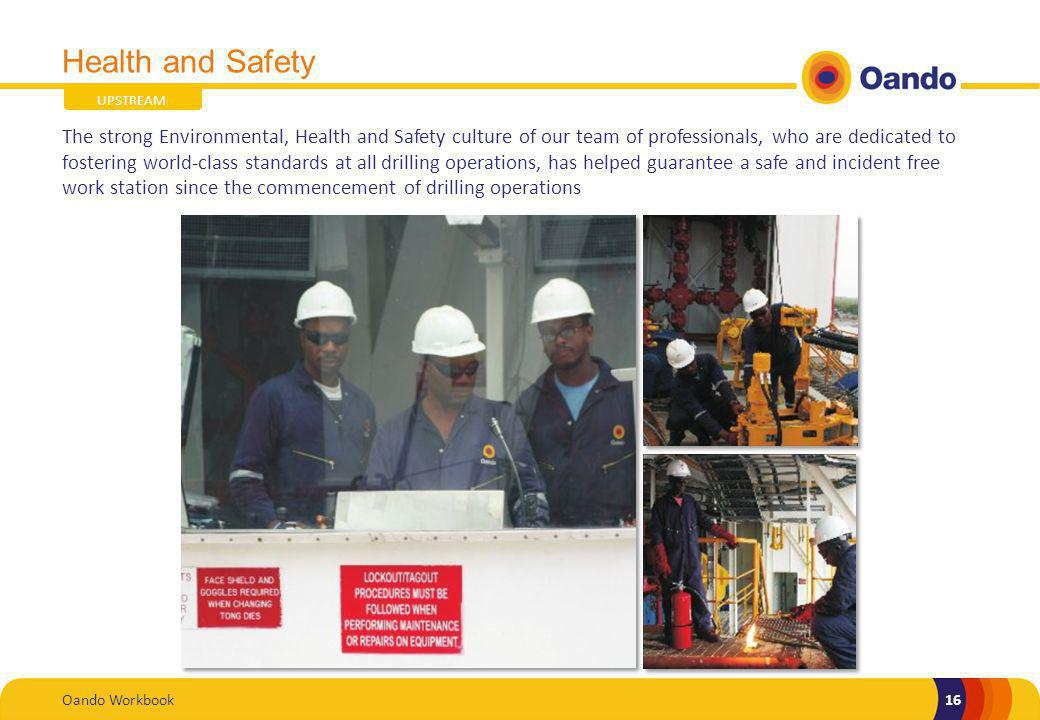 Health and Safety UPSTREAM.