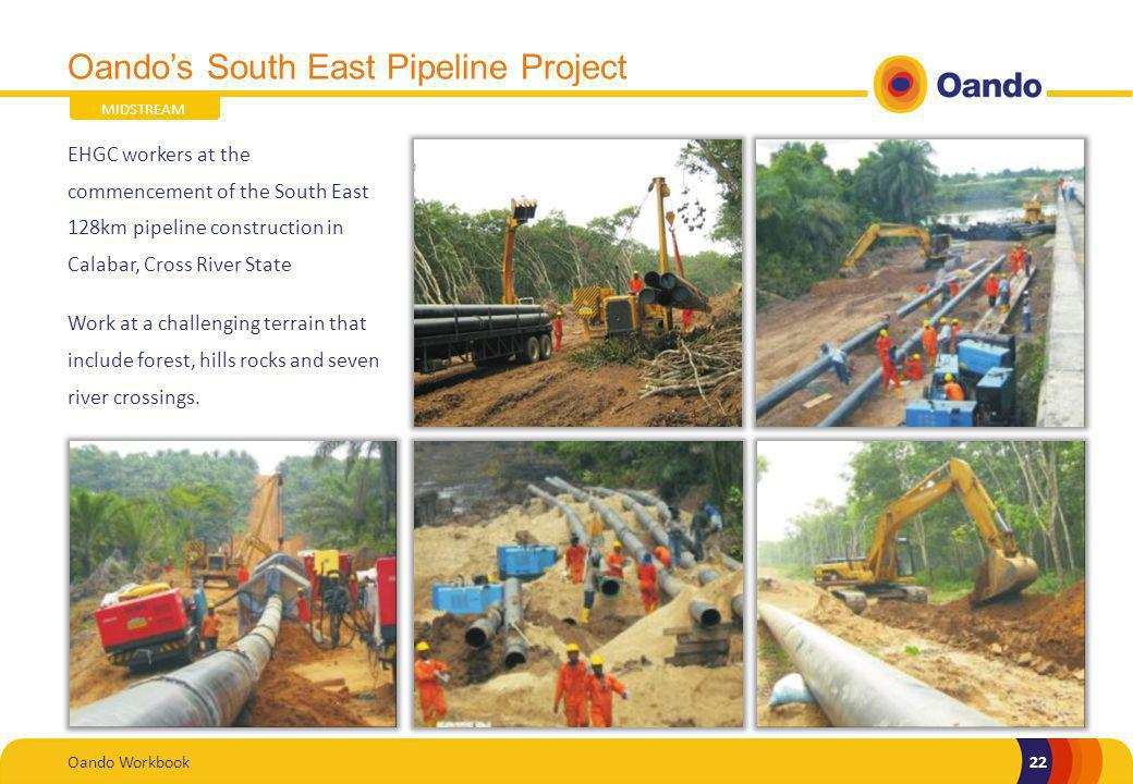 Oando's South East Pipeline Project