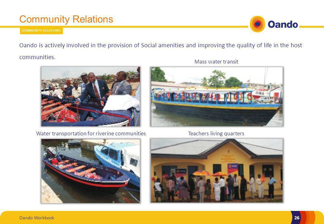 Community Relations COMMUNITY RELATIONS.