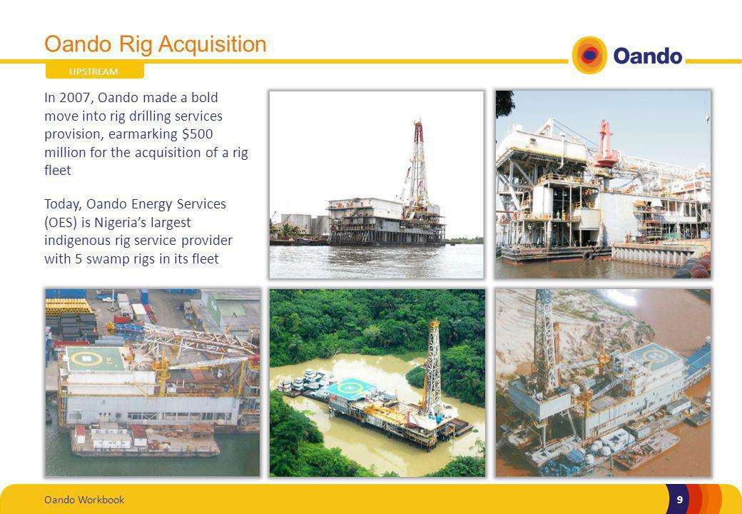 Oando Rig Acquisition UPSTREAM.