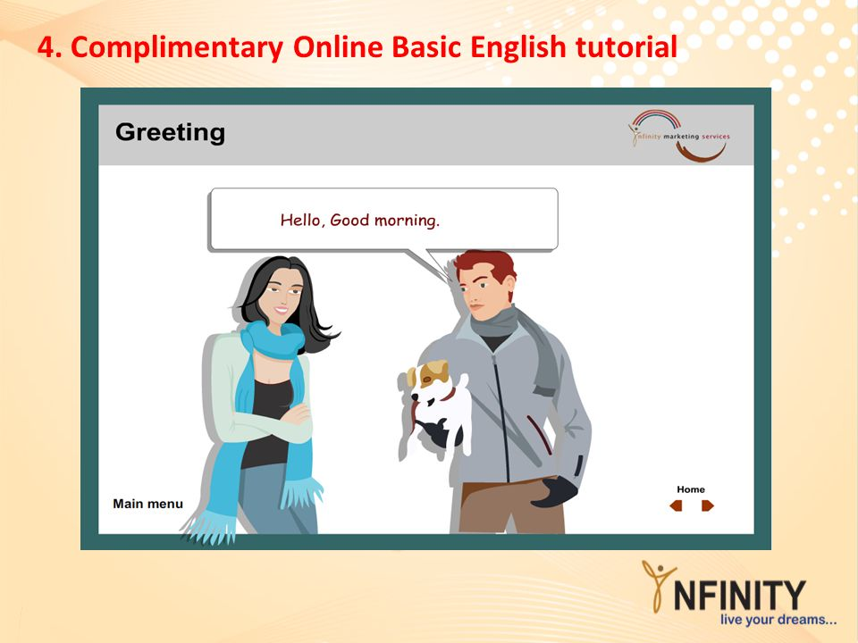 4. Complimentary Online Basic English tutorial