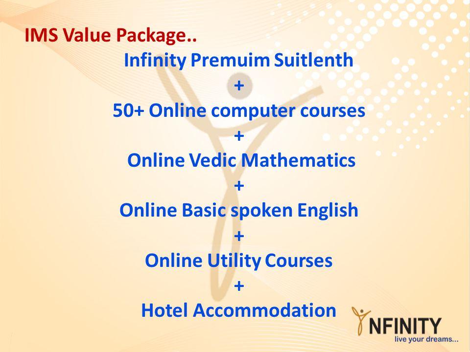 Infinity Premuim Suitlenth + 50+ Online computer courses