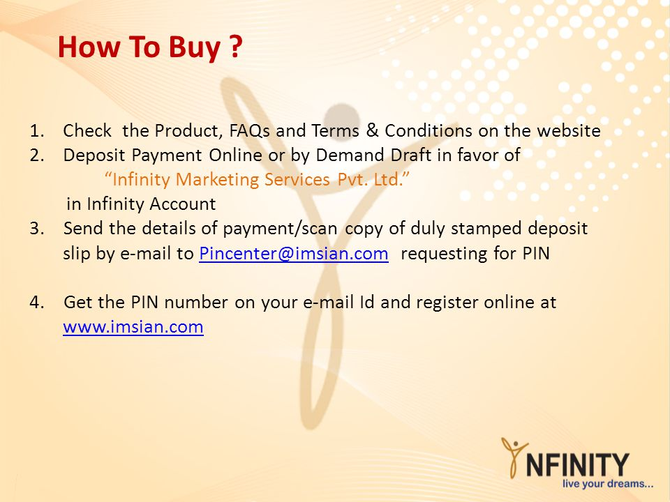 How To Buy Check the Product, FAQs and Terms & Conditions on the website. Deposit Payment Online or by Demand Draft in favor of.